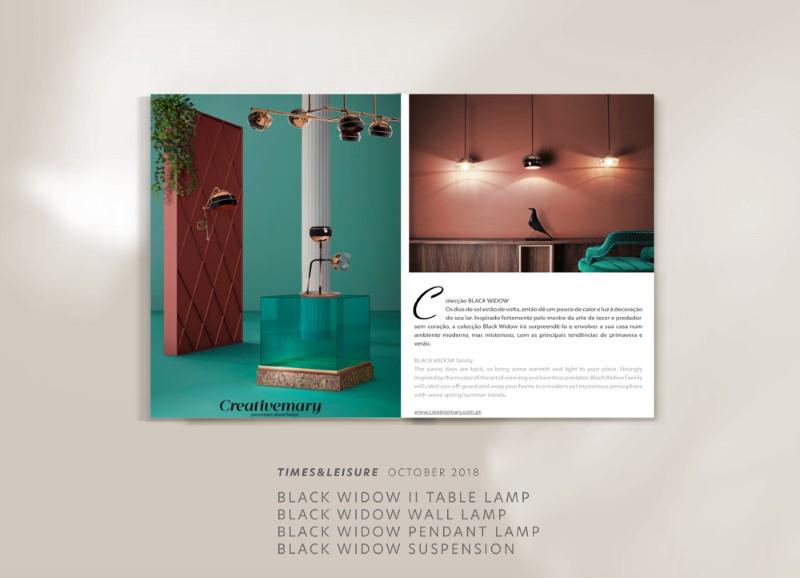 Black widow lamps by creativemary | luxury lighting