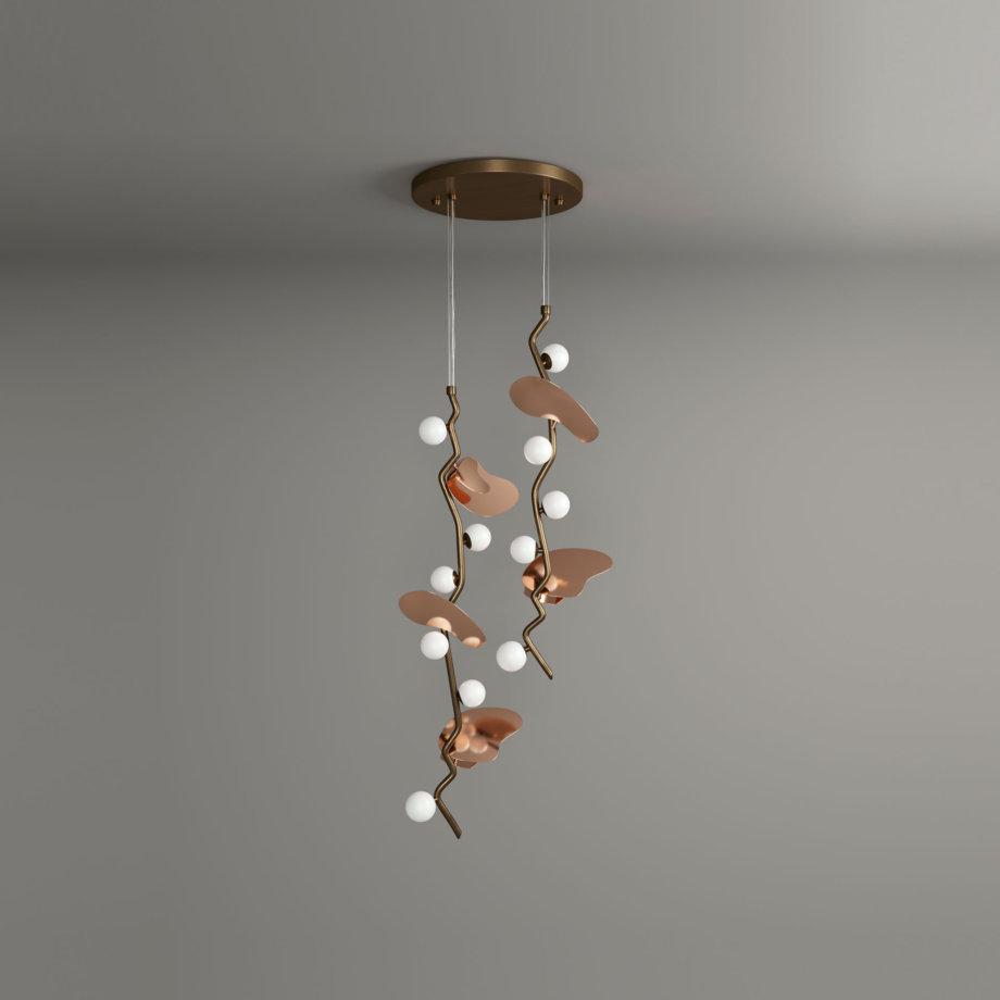 Almond pendant lamp