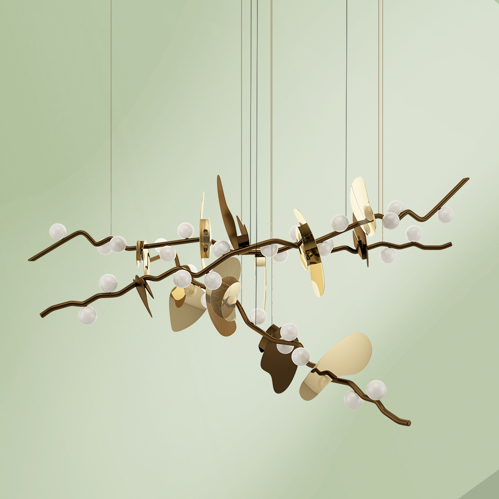 Almond Suspension Lamp