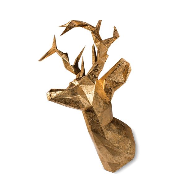 Antler head mount by Malabar