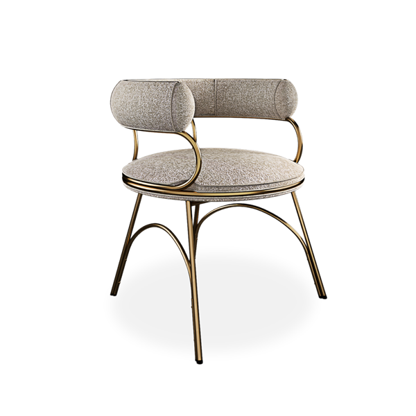 Austin Dining Chair designed by Porus Studio