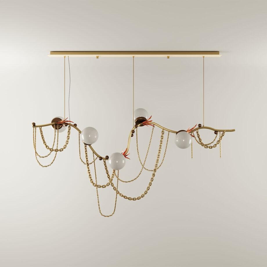 Berlin suspension lamp