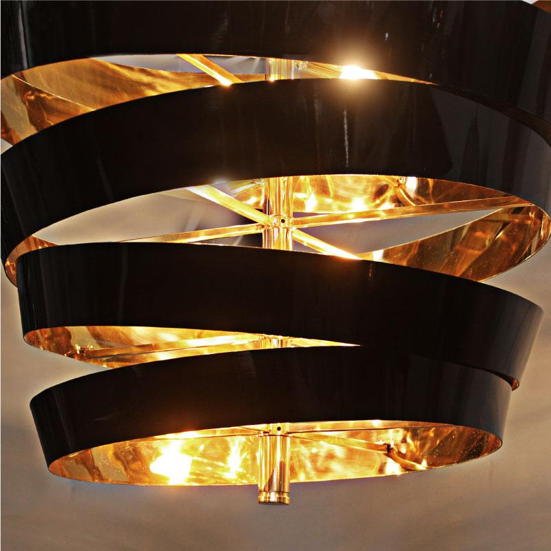 Bilbao suspension lamp