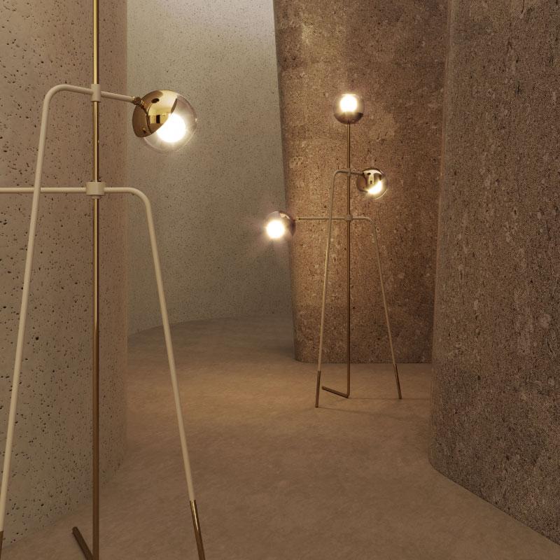 Black widow floor lamp blog
