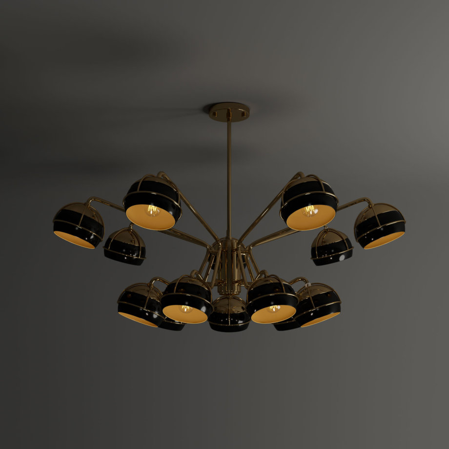 Black widow ii chandelier