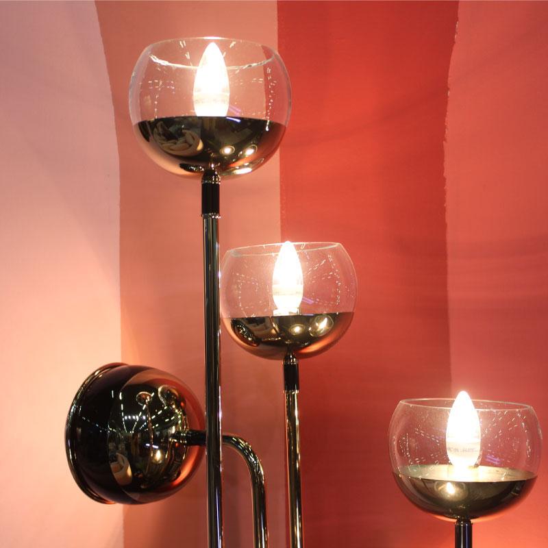 Black widow ii floor lamp