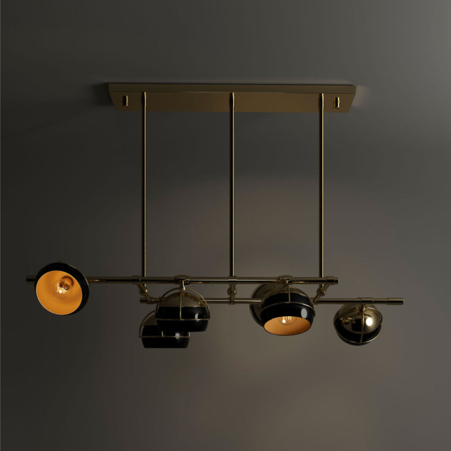 Black widow ii suspension lamp