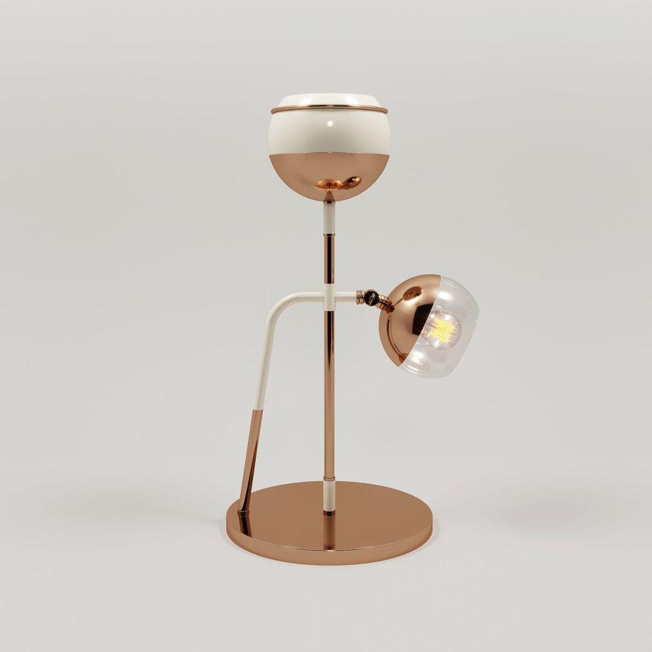 Black widow ii table lamp