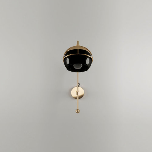 Black widow ii wall lamp