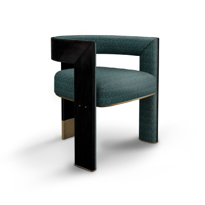 Brooklyn Dining Chair designed by Porus Studio