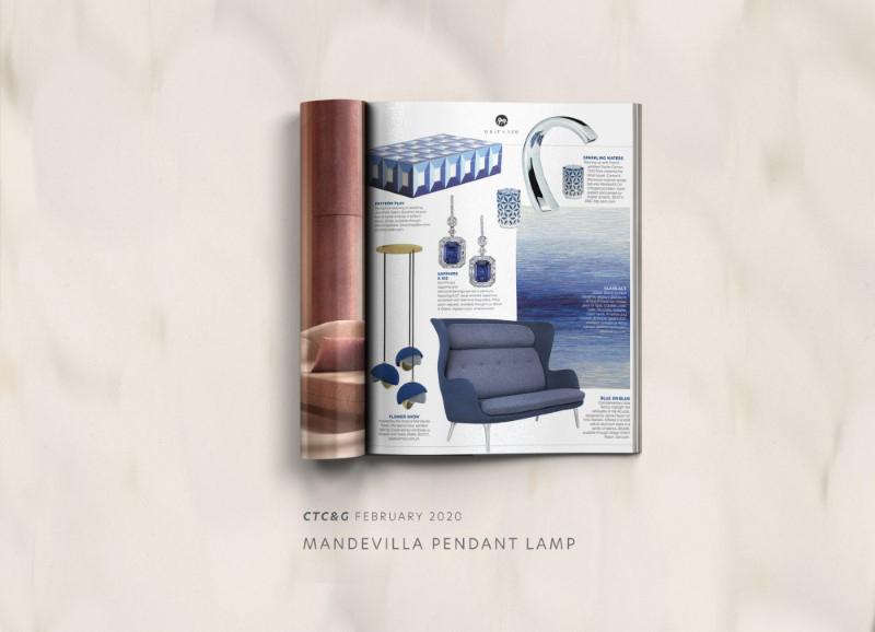 Mandevilla iii pendant lamp by creativemary | luxury lighting