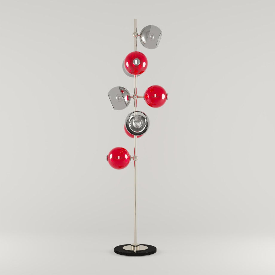 Cherries floor lamp