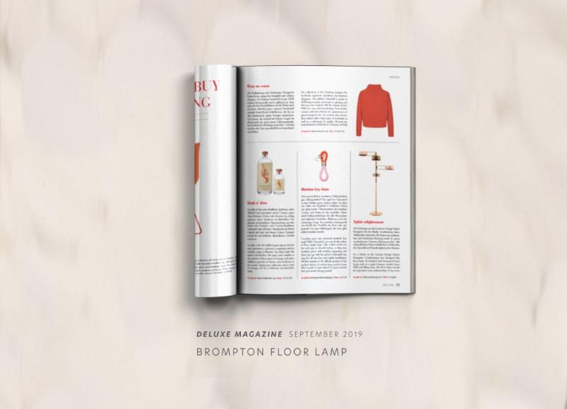 Brompton floor lamp by creativemary | luxury lighting