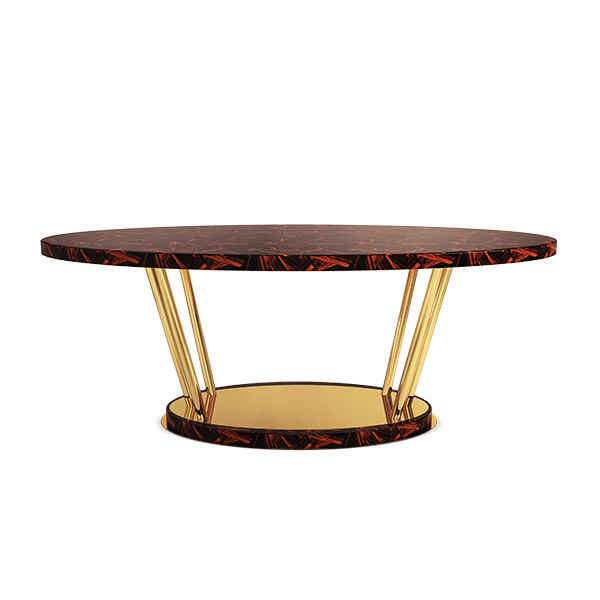 Edsel Dining Table by Porus Studio