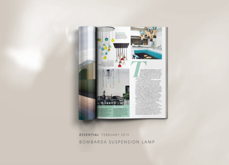 Bombarda suspension lamp by creativemary | luxury lighting
