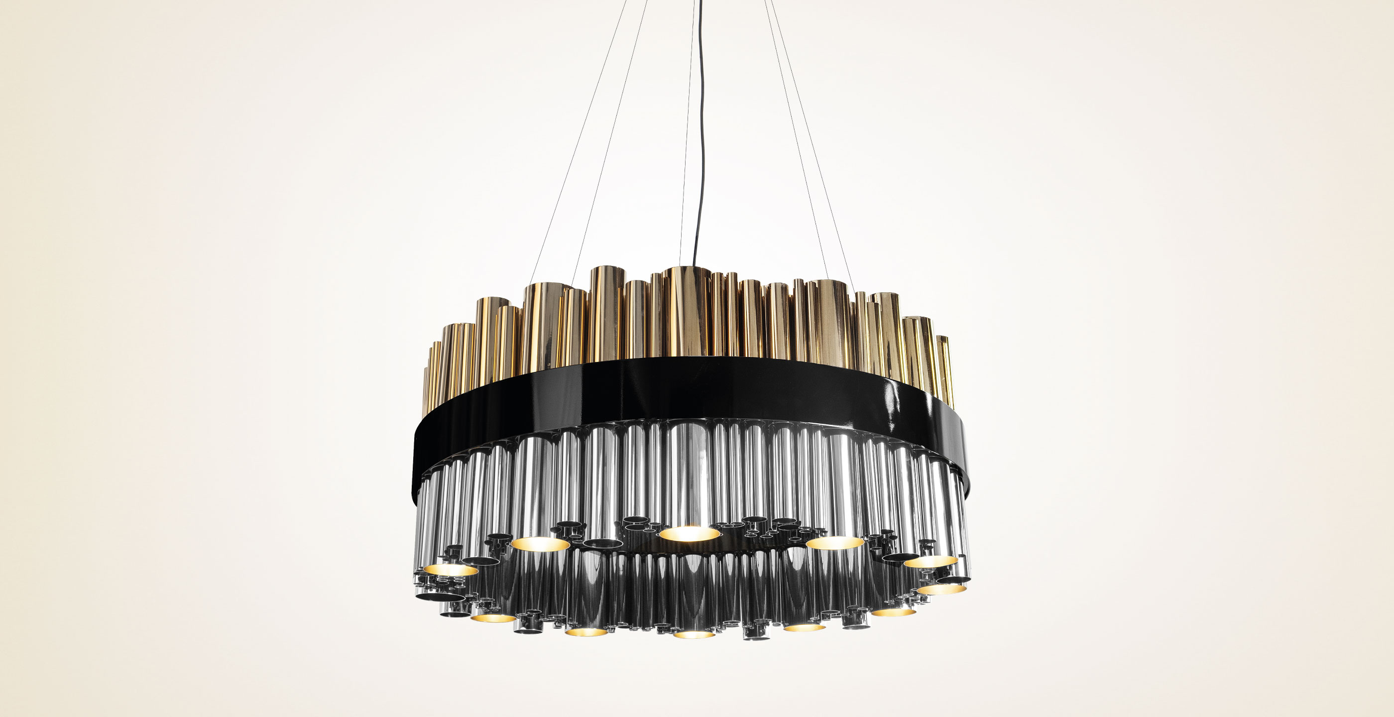 Granville Round Suspension Lamp