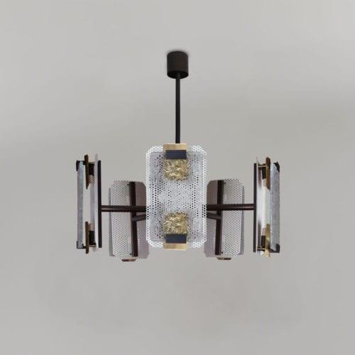 Greenwich suspension lamp