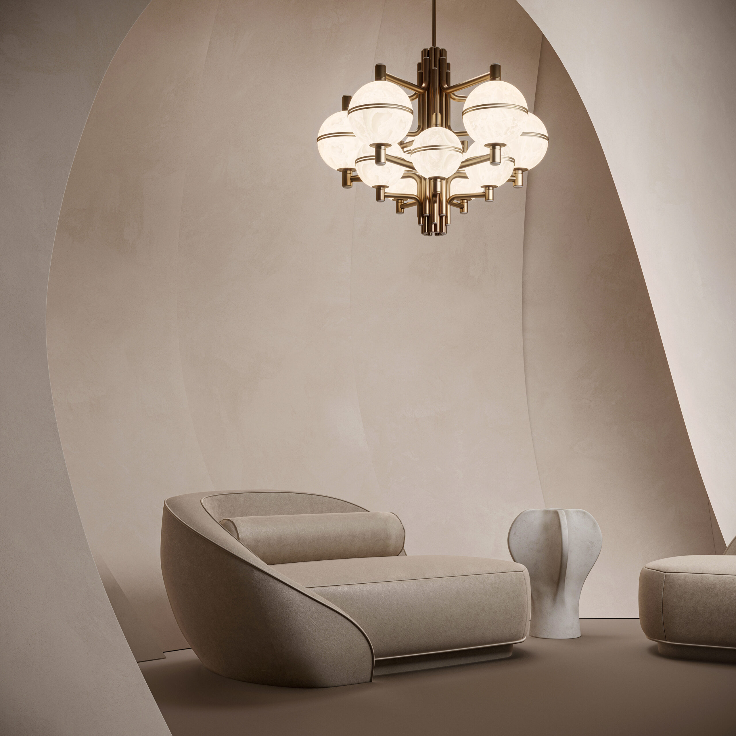 Hanging lamps - andros suspension lamp-ambient