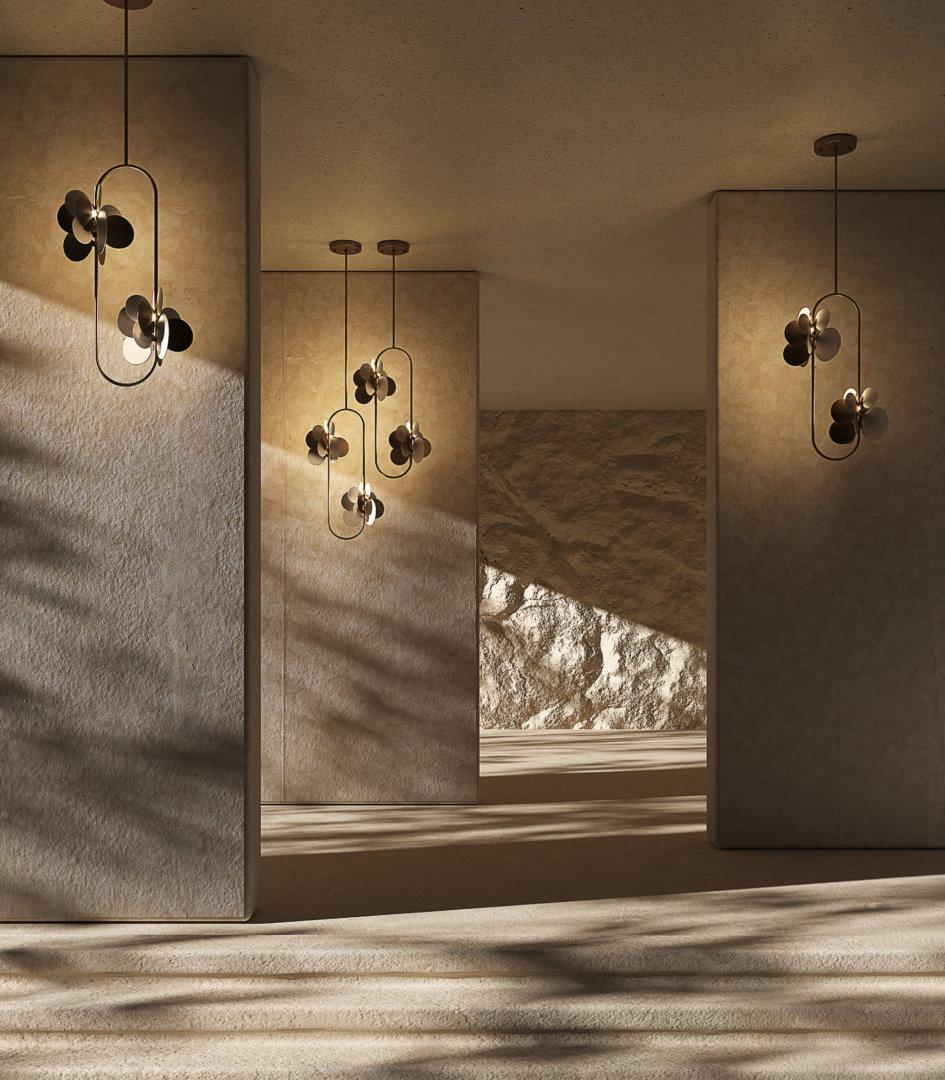 Iconic lights hera pendant lamp