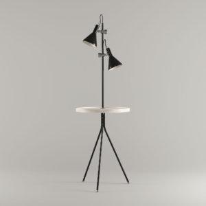 Iconic lights karlin floor lamp