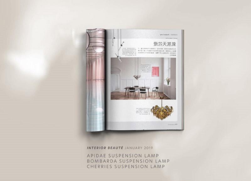 Apidae suspension lamp by creativemary | luxury lighting