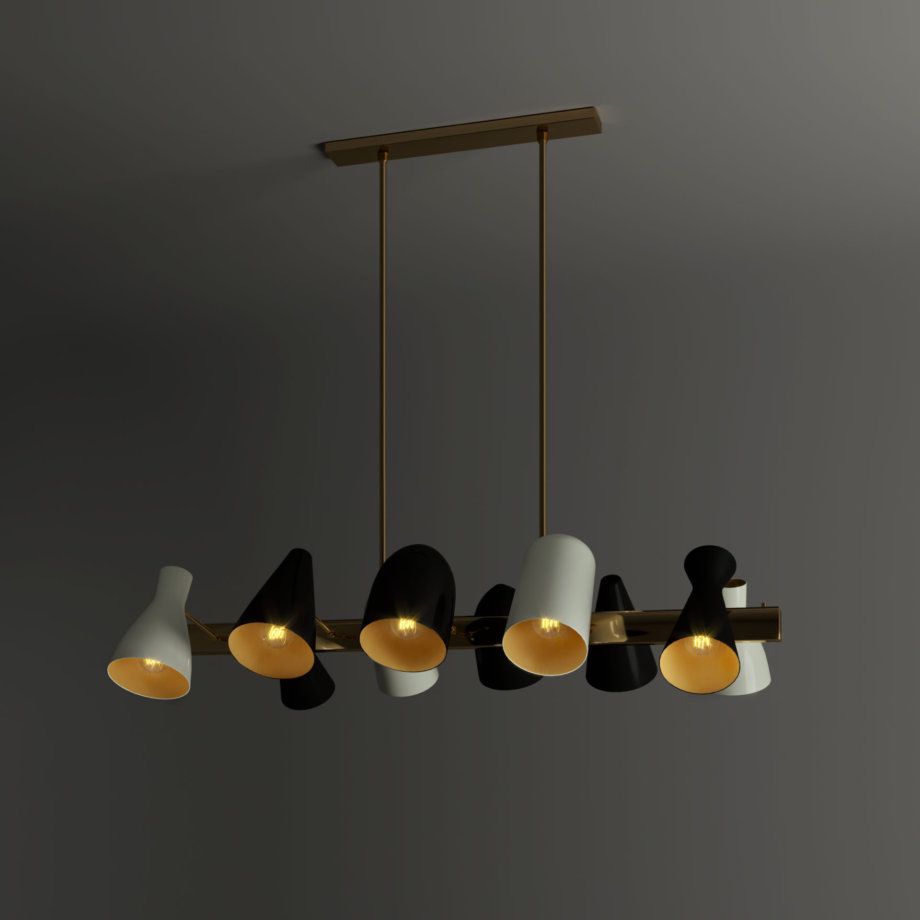 Jordaan suspension lamp