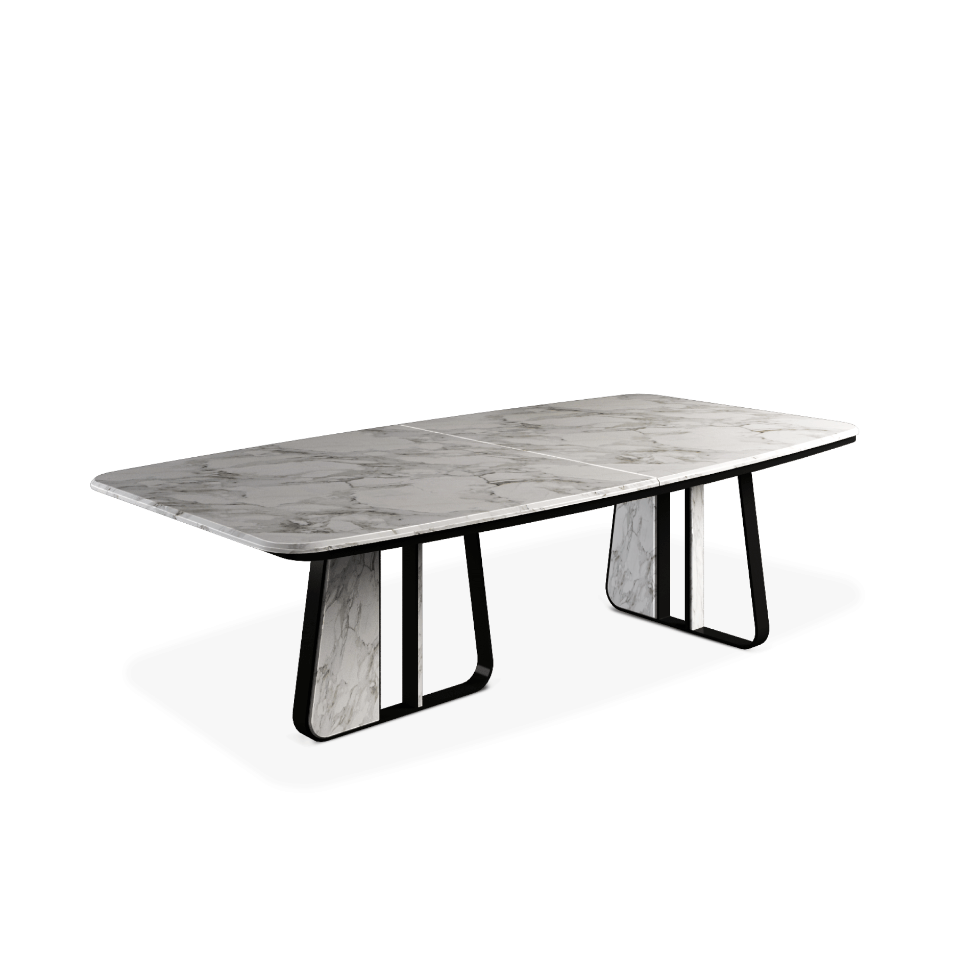 Kenai Dining Table designed by Porus Studio