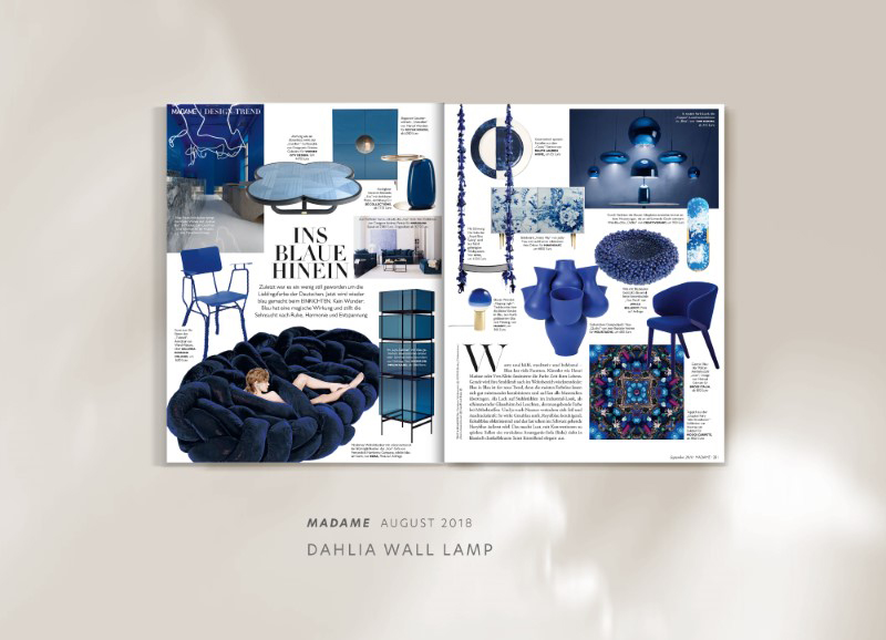 Dahlia wall lamp by creativemary | luxury lighting