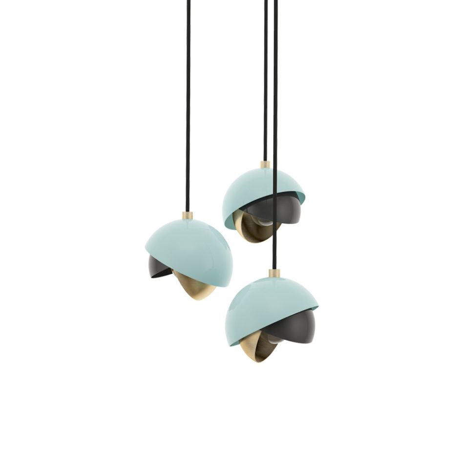 Mandevilla Pendant III in Trendy Purist Blue
