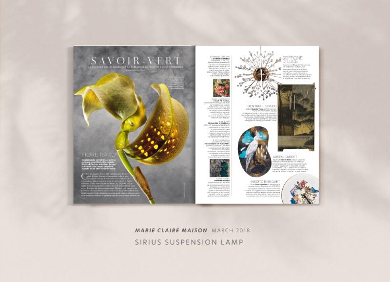 Sirius suspension lamp by creativemary | luxury lighting