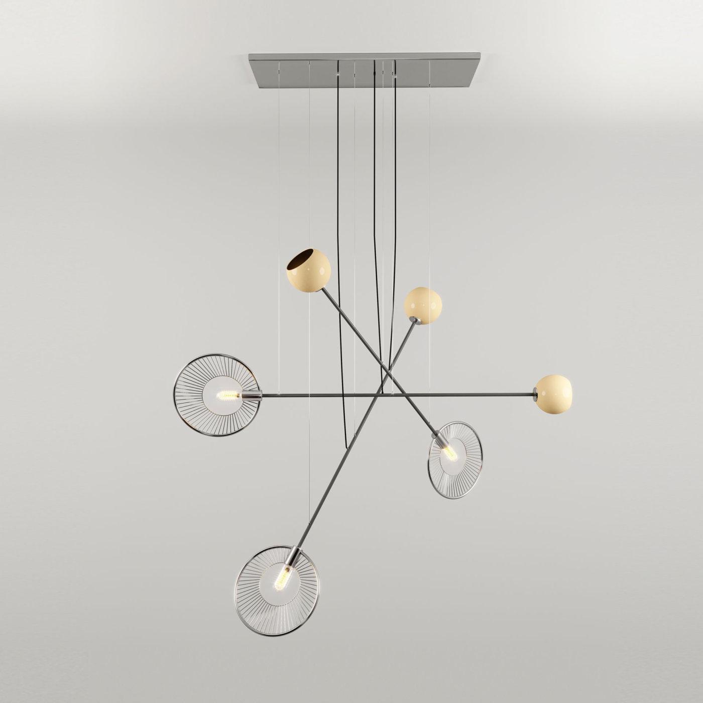 Melrose suspension lamp 6 site