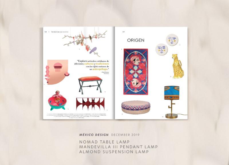 Almond suspension lamp by creativemary | luxury lighting