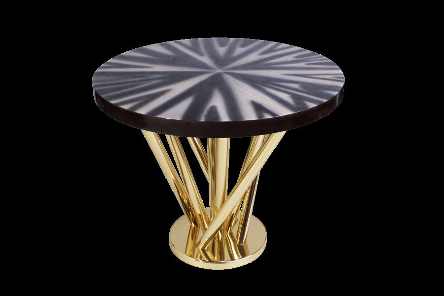 Nebula Side Table by Malabar
