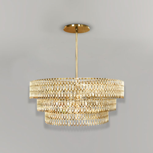 Petal chandelier
