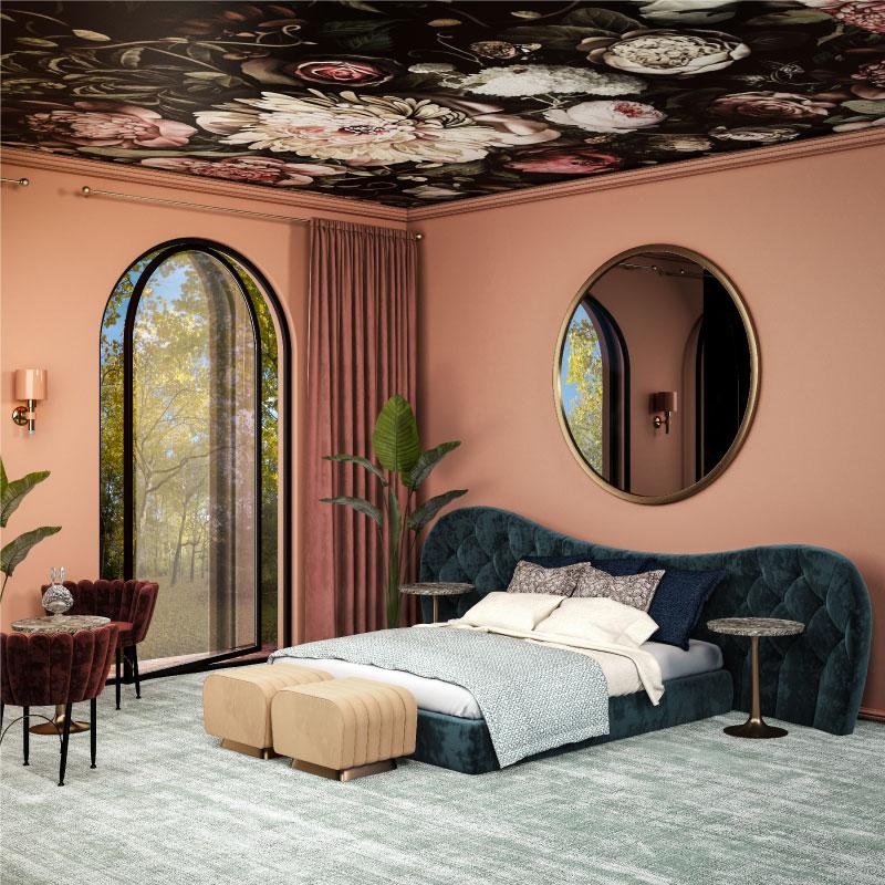 Salamanca wall lamp and linda bed