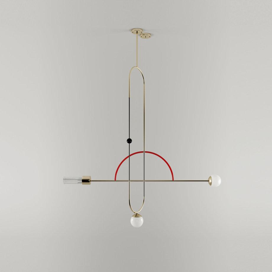 Tortona suspension lamp