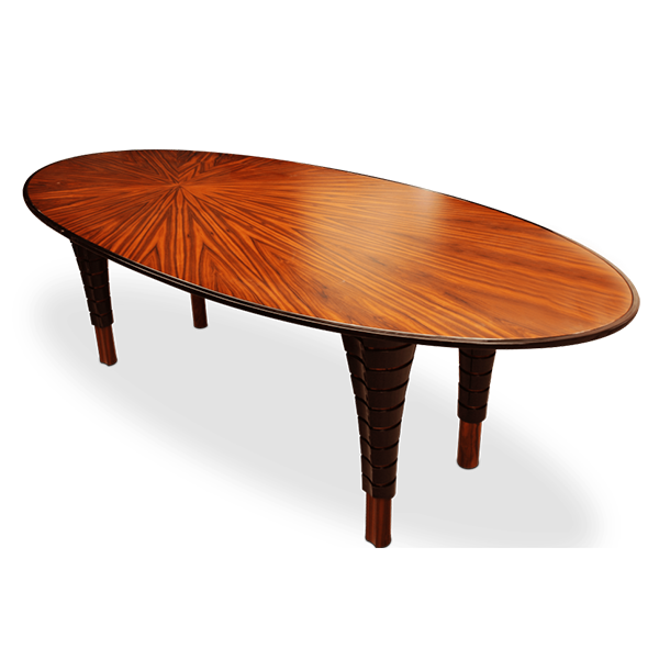 Volute Dining Table by Malabar