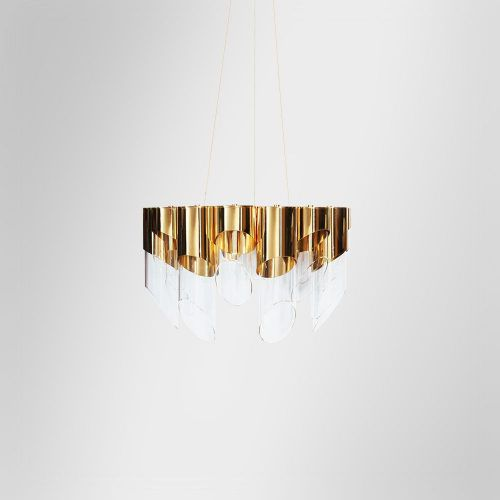 Bamboo II Suspension Lamp | Bamboo luxury lighting Family