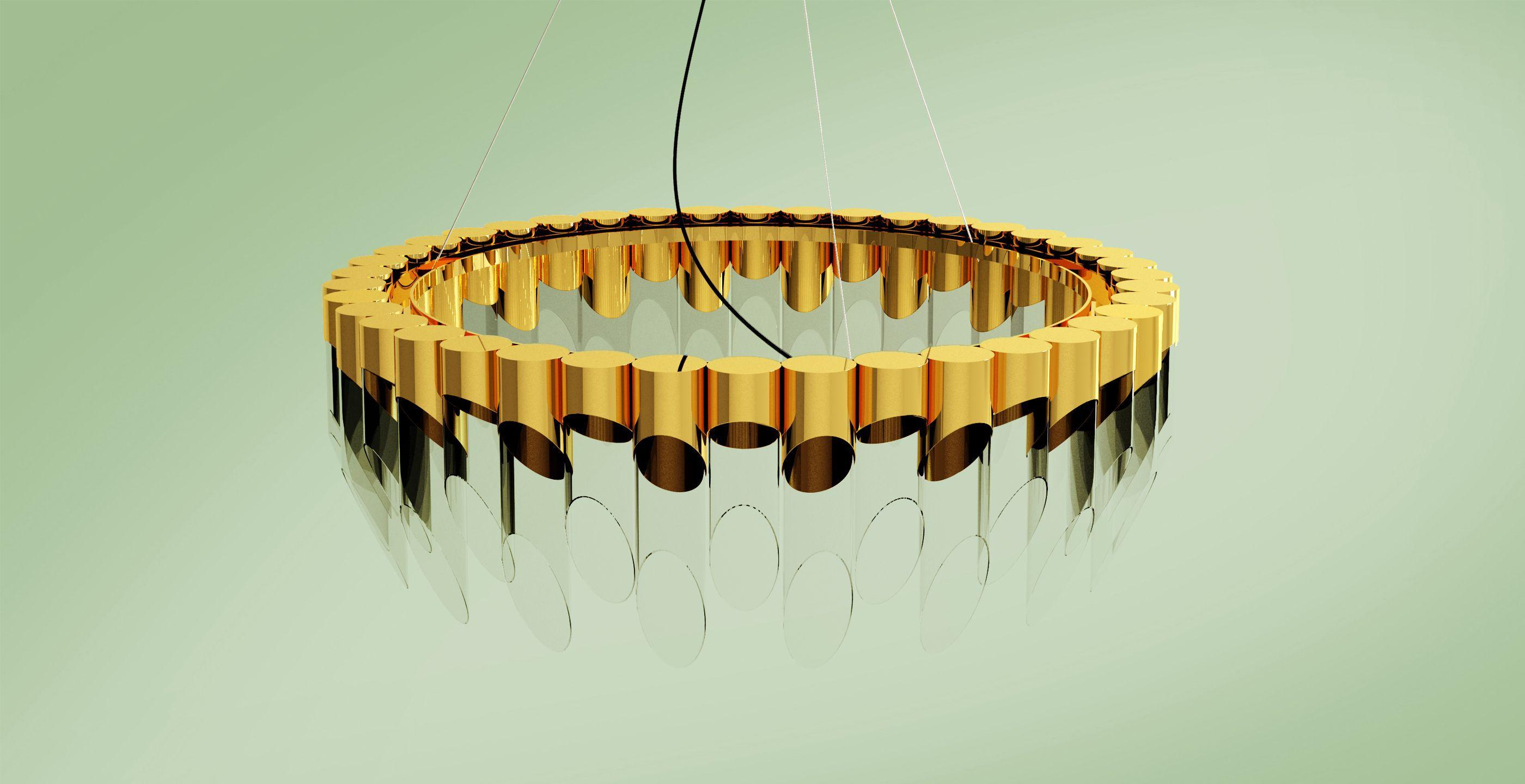 Bamboo Suspension Lamp