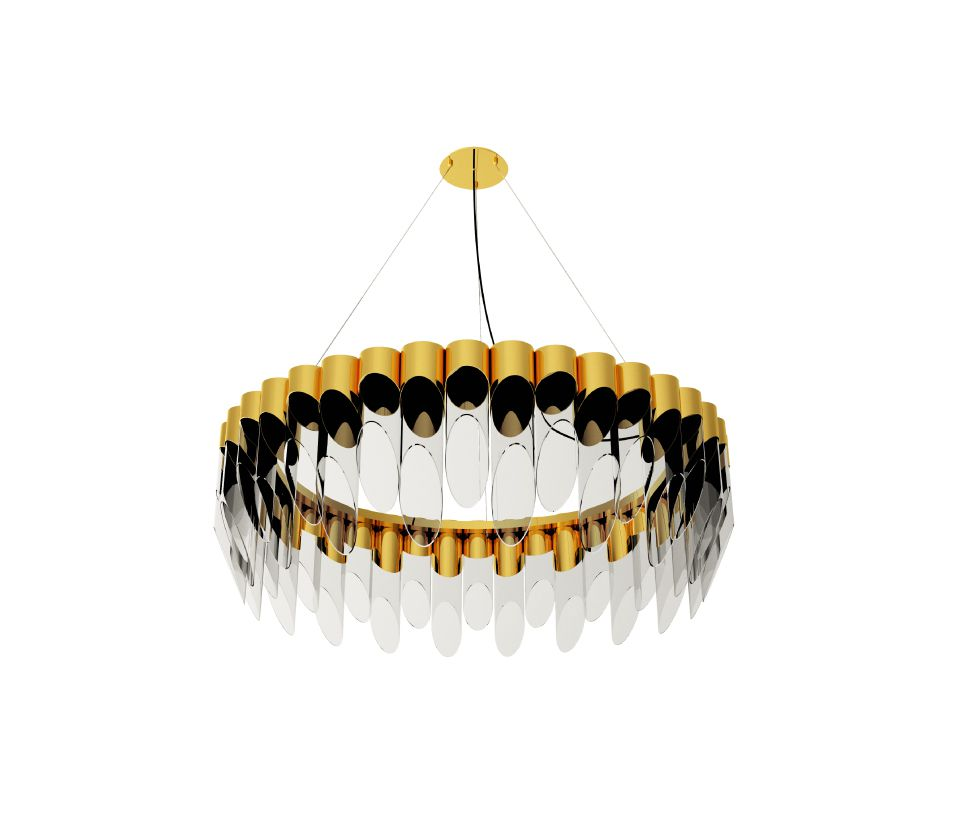 Bamboo Suspension Lamp