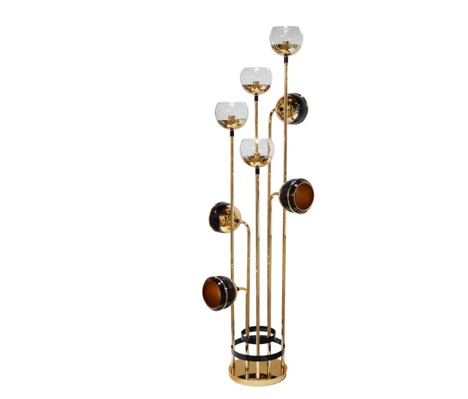 Black Widow II Floor Lamp