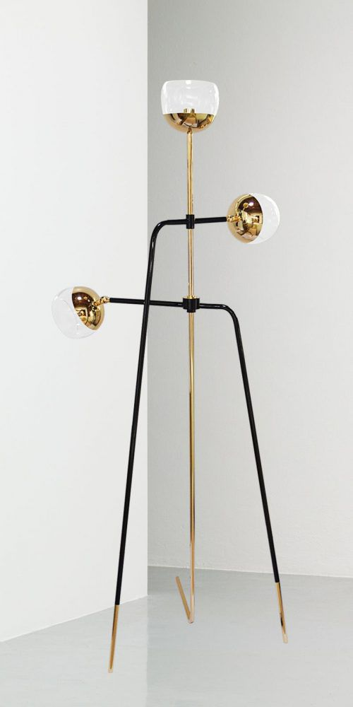 Black Widow Floor Lamp