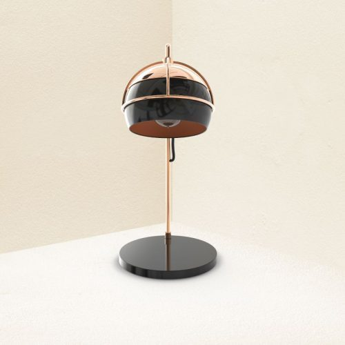 Black Widow Table Lamp