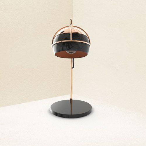 Black Widow Table Lamp