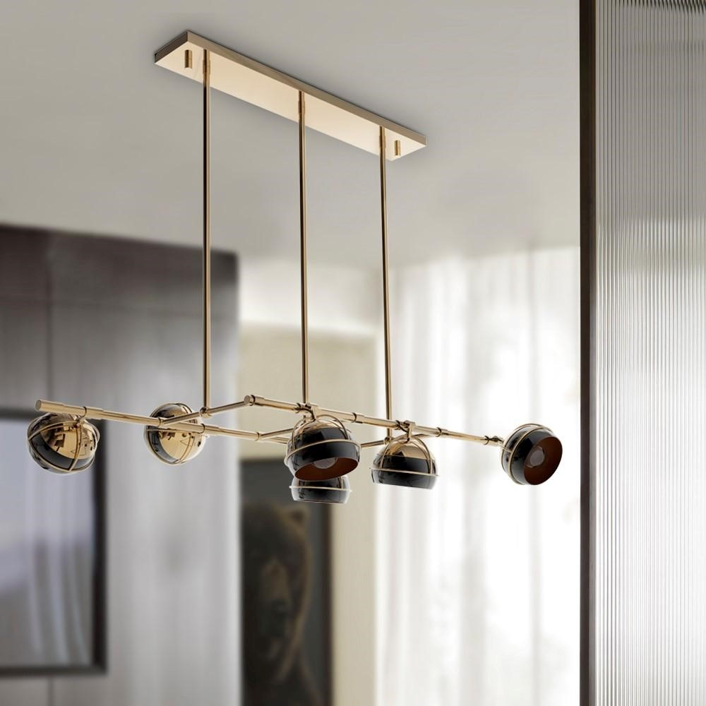 Black Widow II Suspension Lamp