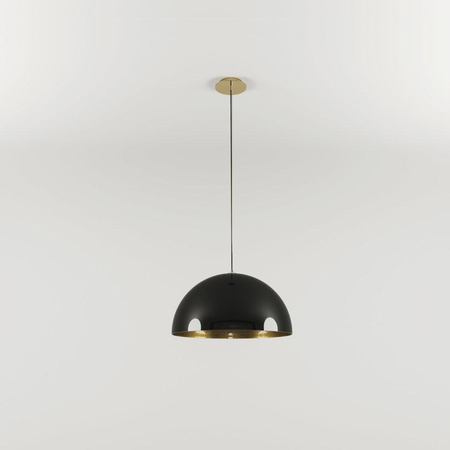 Brera suspension lamp lacquered 5 scaled