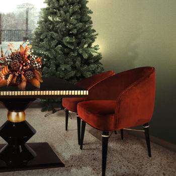 cortez table and ingrid dining chair for christmas decor