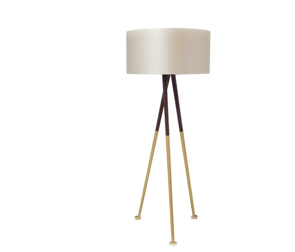 Gold Scales Floor Lamp