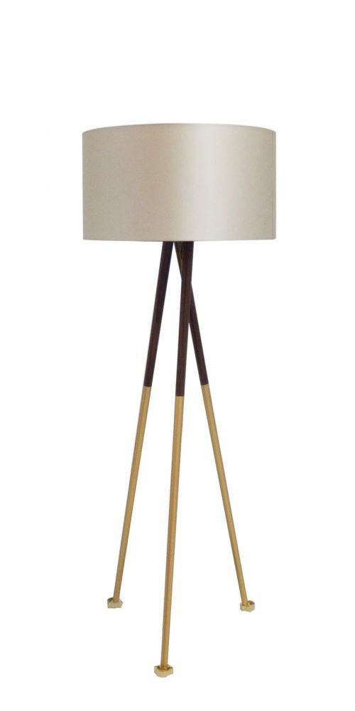 Gold Scales Floor Lamp