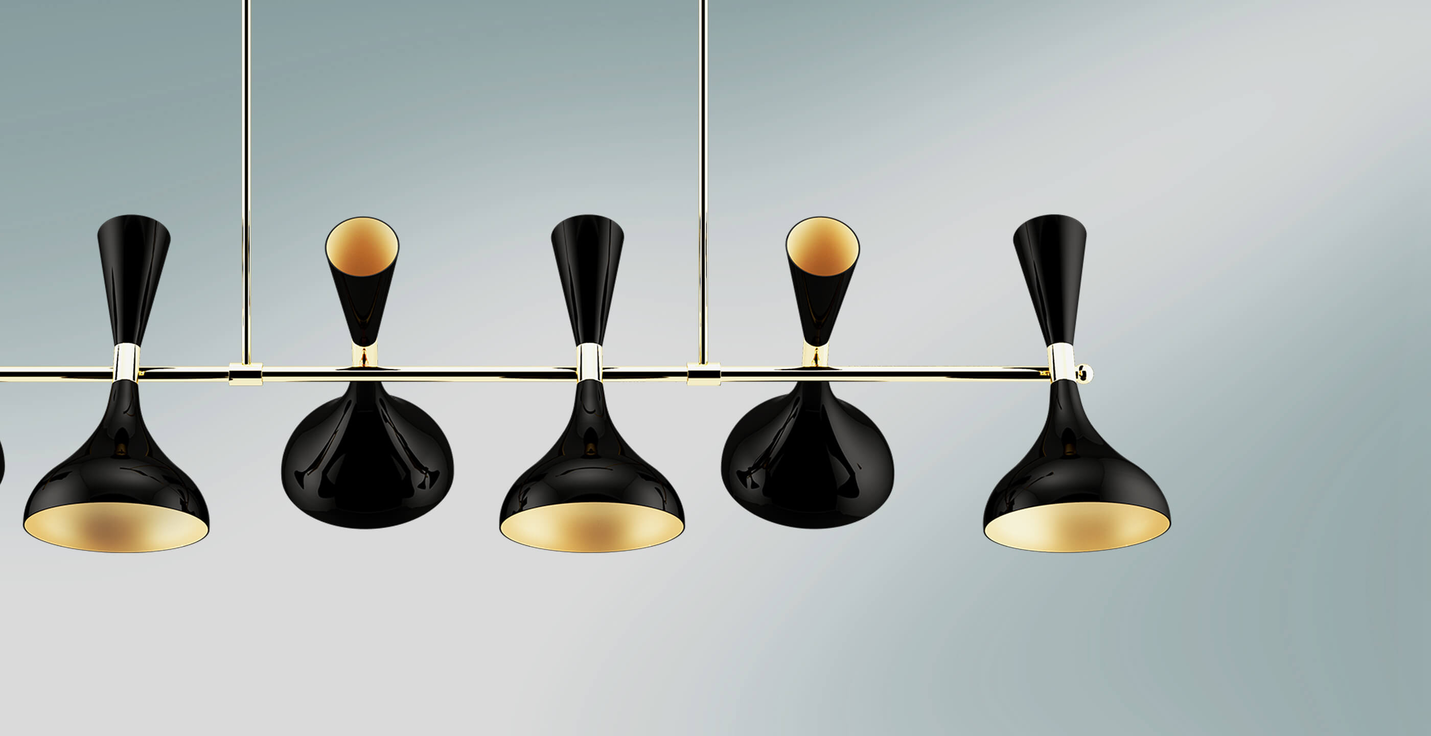 Helsinki II modern suspension lamp